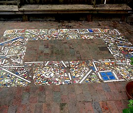 The re-worked mosaic